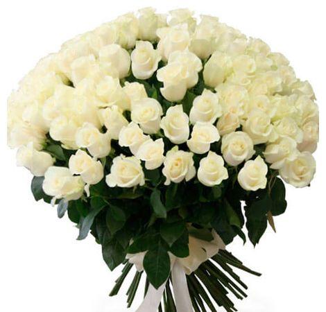 Букет из 101 розы (Голландия). Superflowers.com.ua