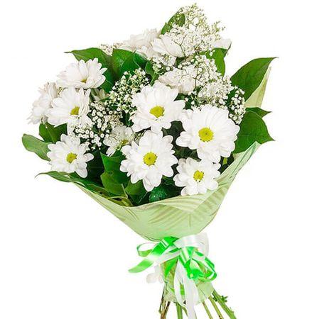 """Букет хризантем """"Літній вітерець"""". Superflowers.com.ua"""