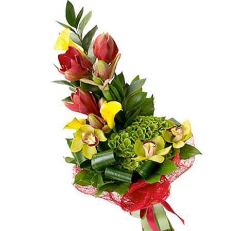 """Цветы мужчине """"Роскошь"""". Superflowers.com.ua. Купить мужской букет в интернет-магазине"""