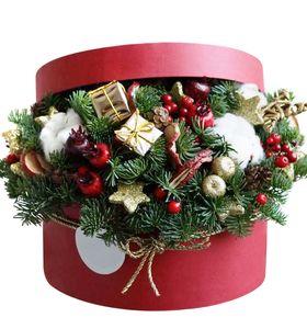 """Подарочная новогодняя коробка """"Анжелика"""""""
