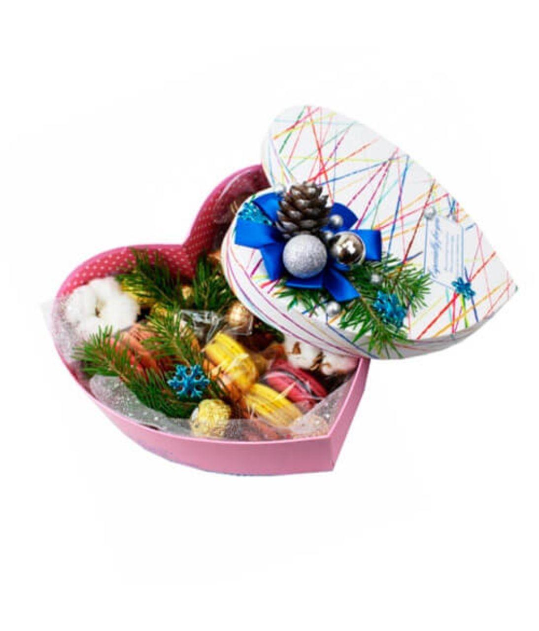 """Квіти в коробці на Новий Рік """"Ялинка"""". Superflowers.com.ua"""