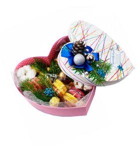 """Квіти в коробці на Новий Рік """"Ялинка"""""""