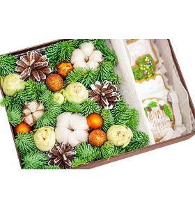 Новогодний подарочный набор в коробке №1