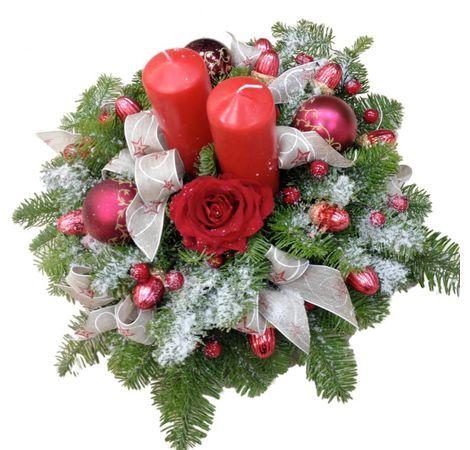 """Новорічна композиція """"Настрій"""". superflowers.com.ua"""