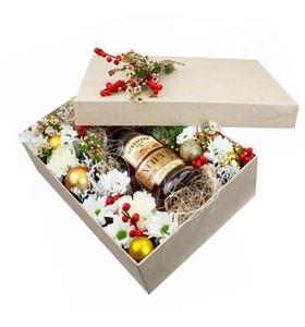 """Подарочная коробка """"Новогоднее настроение"""""""