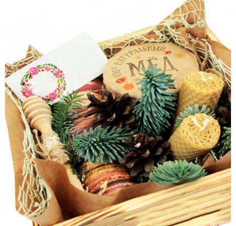 """Подарок в коробке """"Сладкий вечер"""". Superflowers.com.ua"""