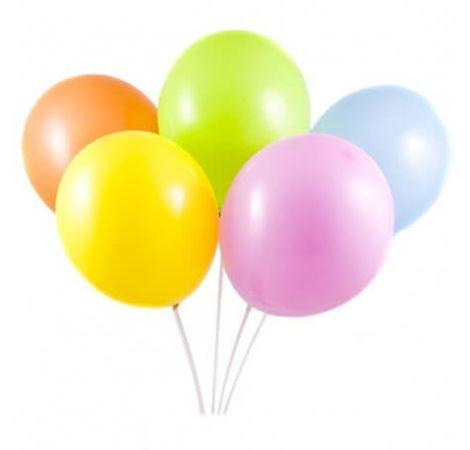 5 воздушных шаров. Superflowers.com.ua
