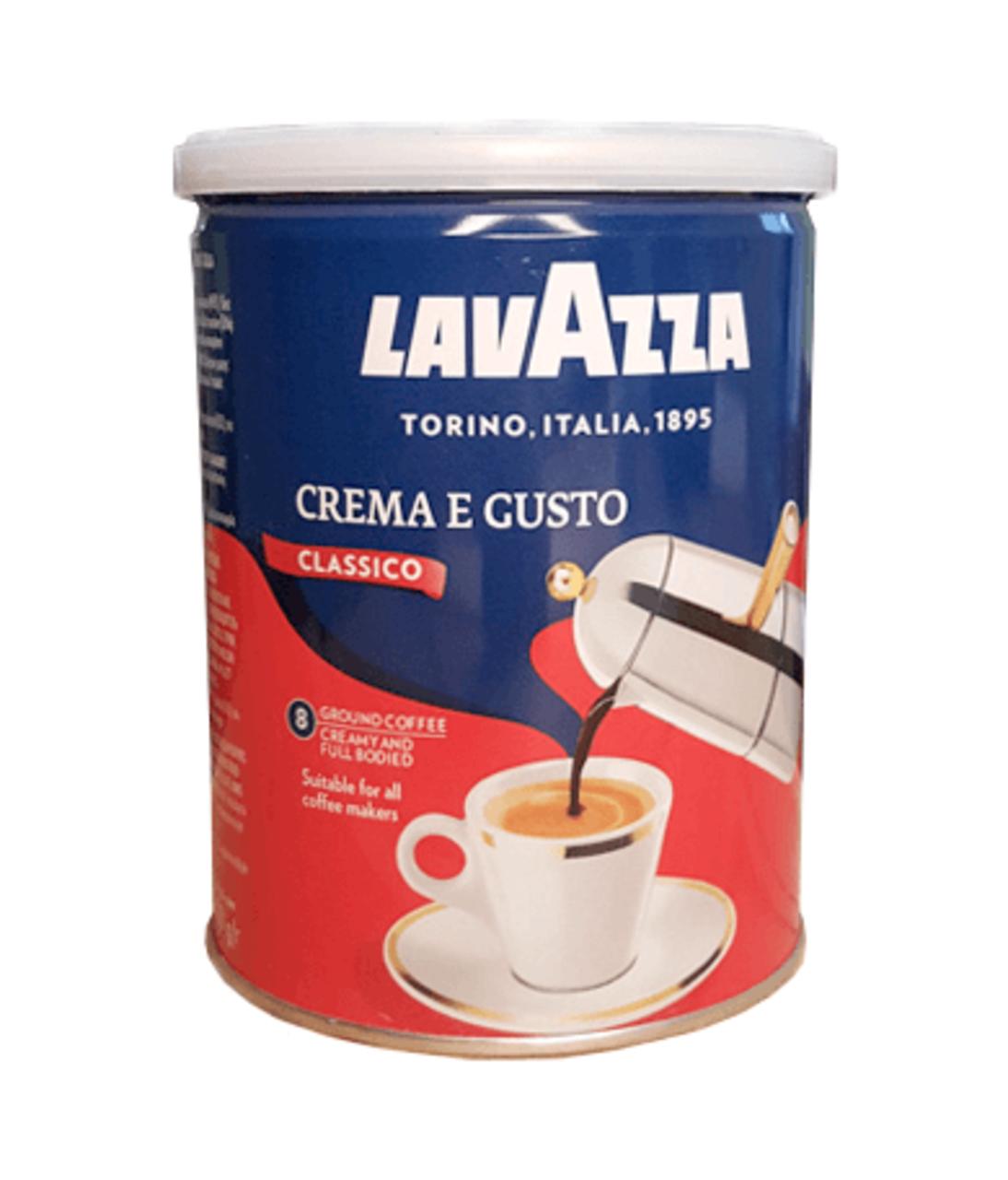 Кофе Lavazza Crema E Gusto Classico. superflowers.com.ua. Купить молотый кофе Lavazza Crema E Gusto