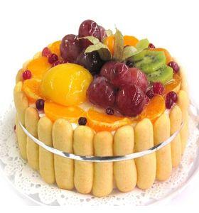 """Торт """"Фруктовый букет"""""""