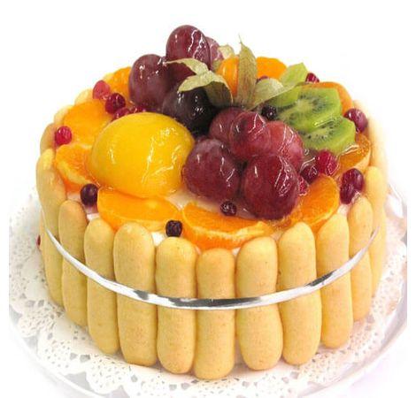 """Торт """"Фруктовий букет"""". Superflowers.com.ua"""
