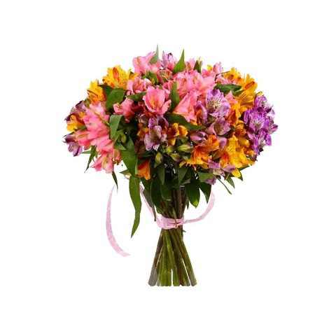 "Букет из альстромерий ""Чудо"". Superflowers.com.ua"