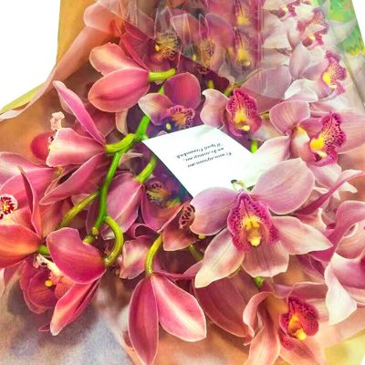"""Букет из орхидей """"Нежность"""""""