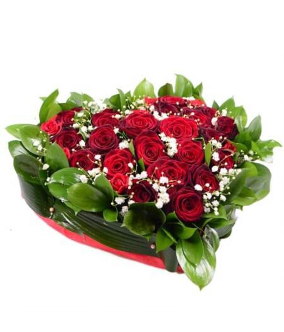 Любов в моєму серці. Superflowers.com.ua