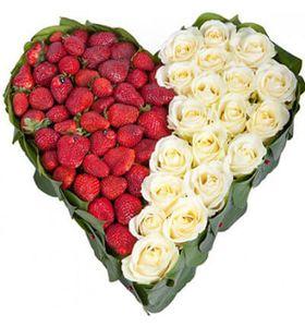 """Сердце из роз """"Для любимой"""""""
