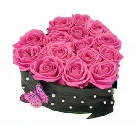 "Серце з троянд ""Моя трояндочка"". Superflowers.com.ua"