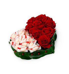 """Серце з троянд """"Солодкість"""""""