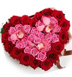 "Сердце из роз ""Жаклин"""