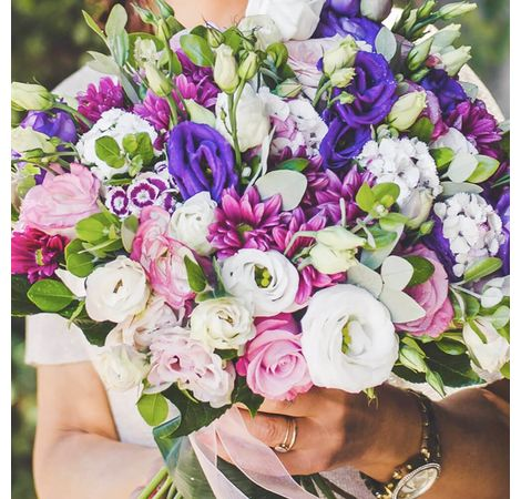 "Букет ""Эустома микс"". Superflowers.com.ua"