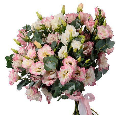 Букет из эустомы. Superflowers.com.ua