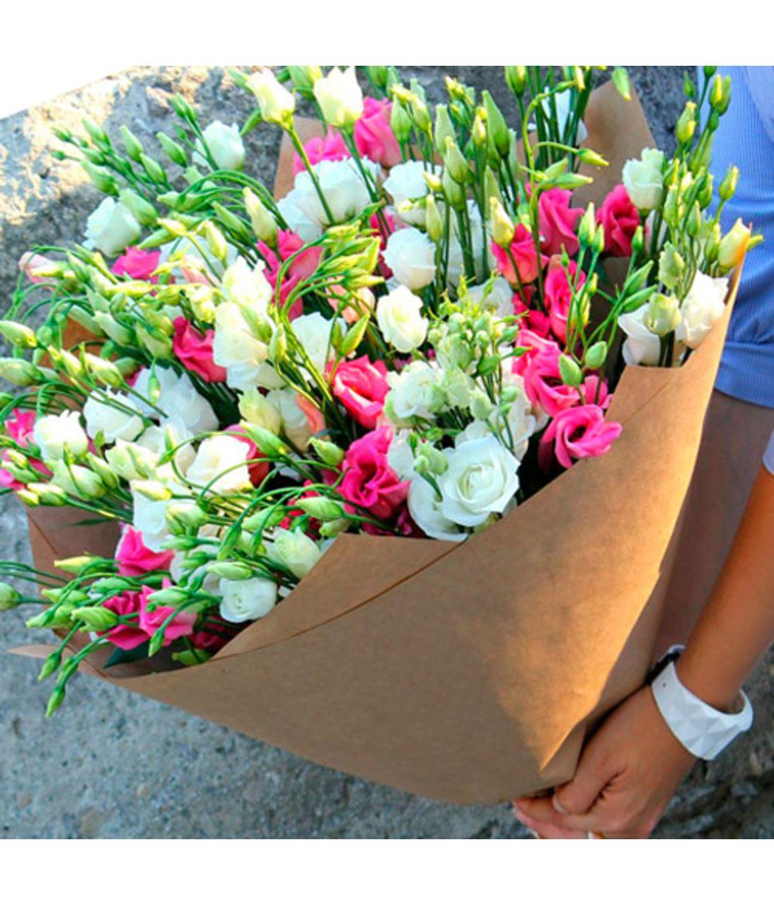 "Букет з еустоми ""Літня прохолода"". Superflowers.com.ua"