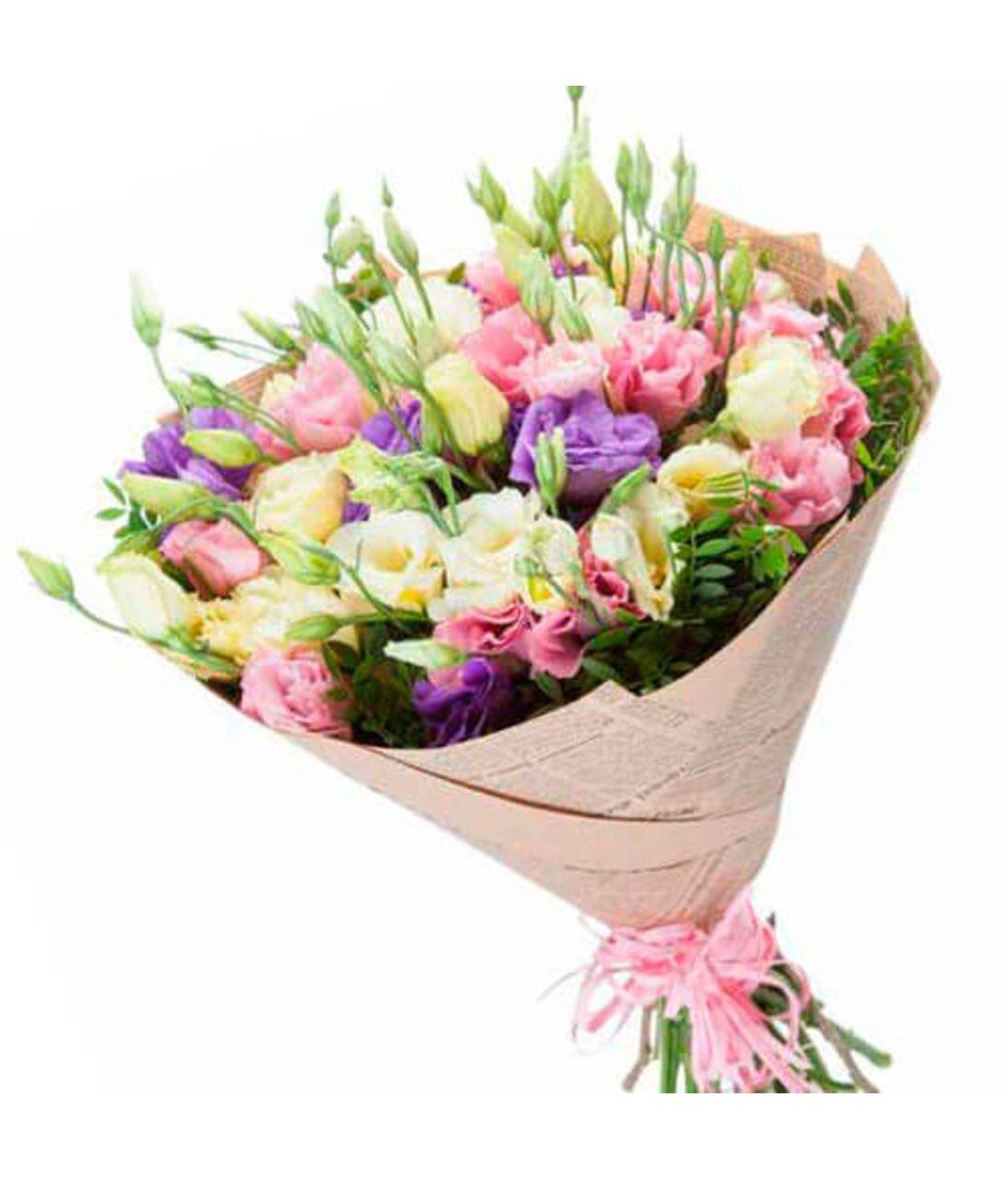 """Букет из цветов Эустомы """"Любимой"""". Superflowers.com.ua"""