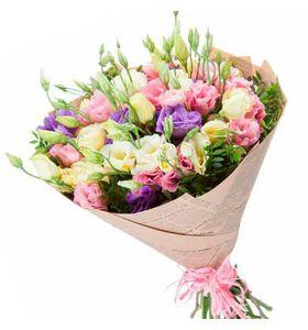 """Букет из цветов Эустомы """"Любимой"""""""