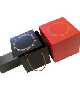 Варианты подарочных коробок на Новый Год