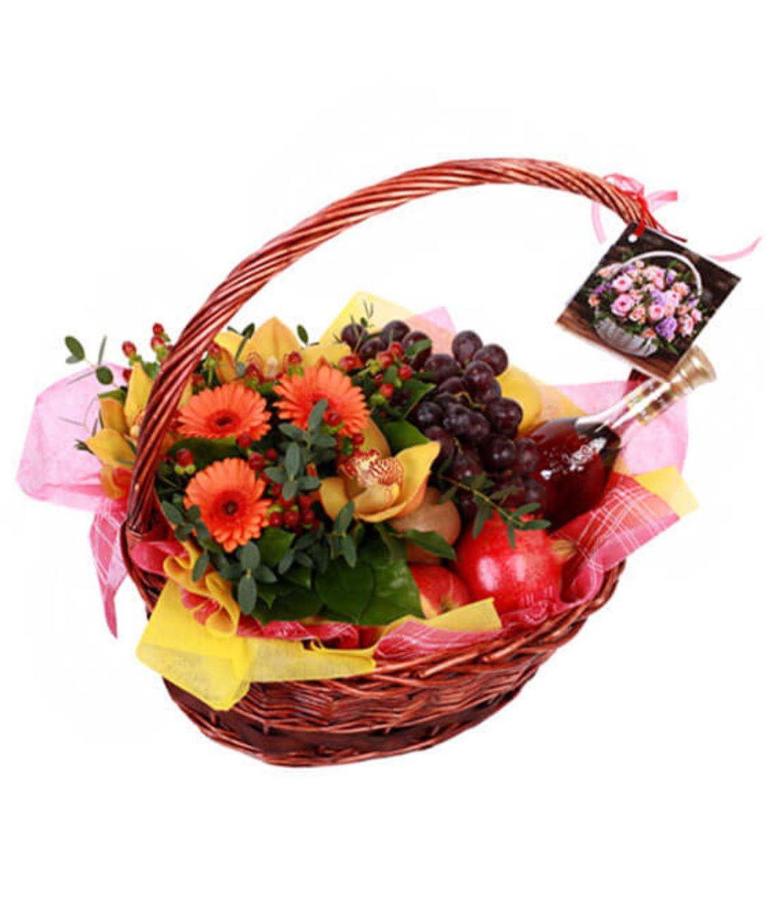 """Фруктовий кошик """"Літо"""". Superflowers.com.ua"""