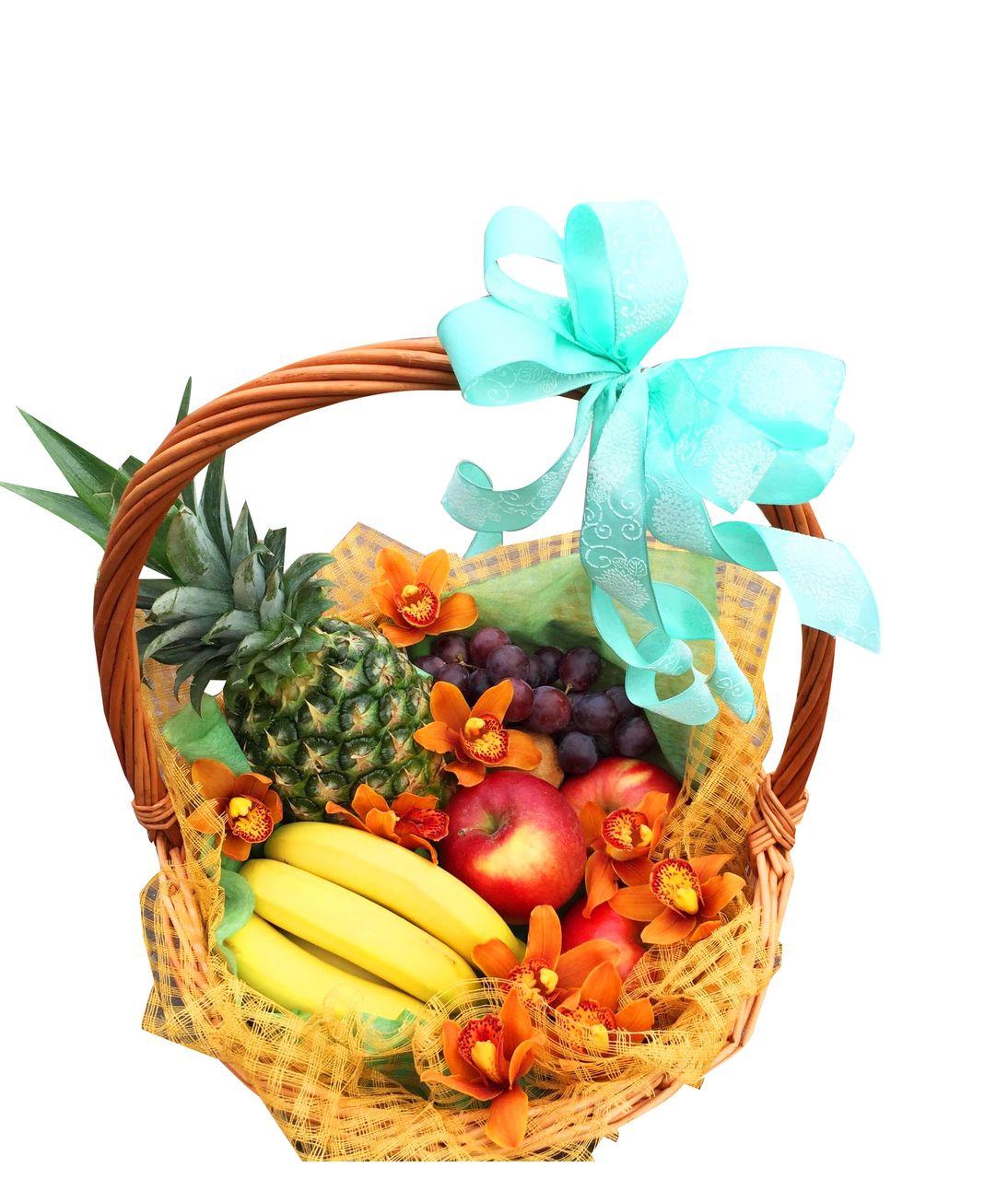Фруктовий кошик на день народження. Superflowers.com.ua
