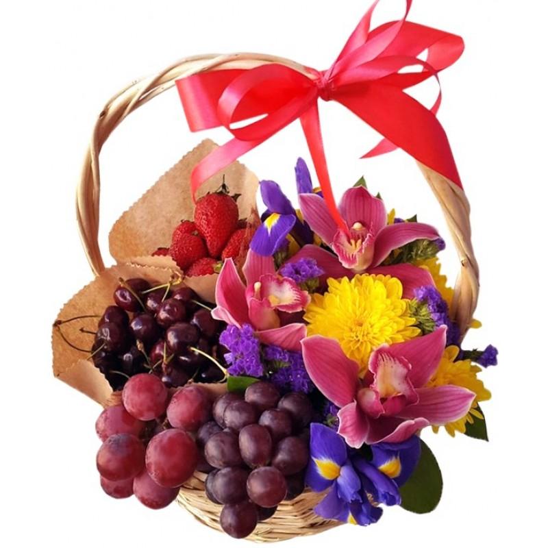 стих поздравление корзина с фруктами обожаю это