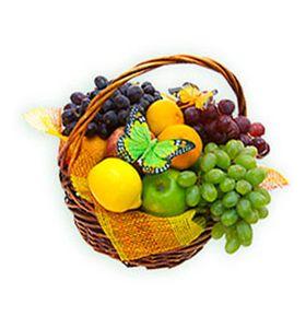 """Корзина с фруктами """"Наслаждение"""""""