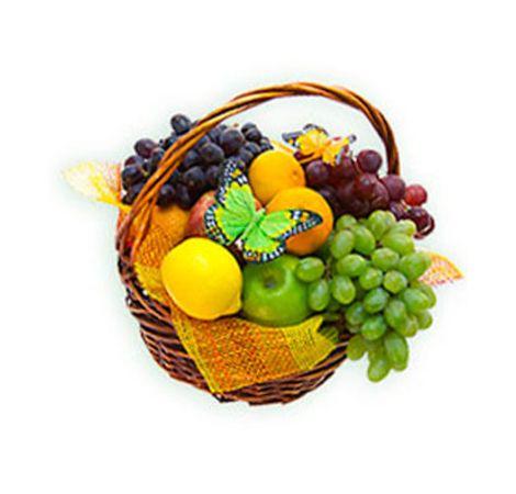 """Корзина с фруктами """"Наслаждение"""". Superflowers.com.ua"""