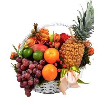 """Корзина  з фруктами """"Настрій"""""""