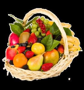 """Корзина с фруктами """"Удовольствие"""""""
