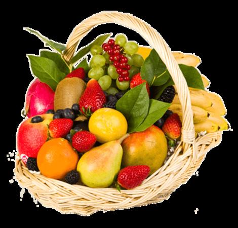 """Корзина с фруктами """"Удовольствие"""". Superflowers.com.ua"""