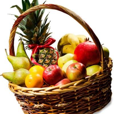 """Корзина з фруктами """"Фруктове задоволення"""""""