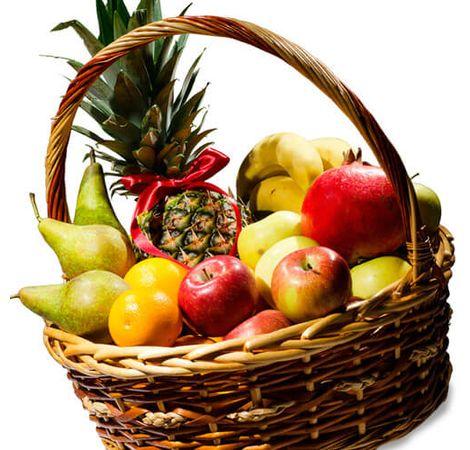 "Кошик з фруктами ""Фруктове задоволення"". Superflowers.com.ua"