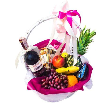 Подарочная корзина на День Рождения. Superflowers.com.ua