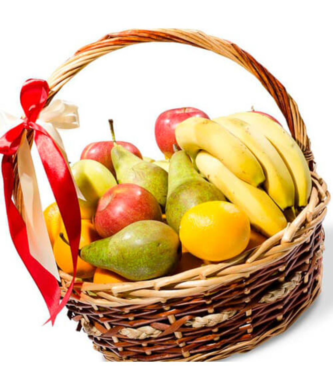 Подарункова корзина з фруктами. Superflowers.com.ua.