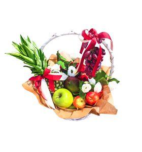 """Подарочная корзина со сладостями """"Fruit"""""""