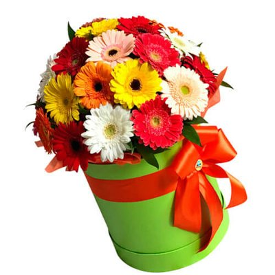 """Букет квітів гербери """"Казкова країна"""""""