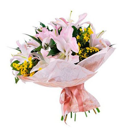 "Букет из лилий ""Скарлетт"". Superflowers.com.ua"