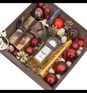 """Новогодняя коробка """"С Новым Годом"""""""