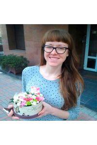 Цветы в коробке Киев