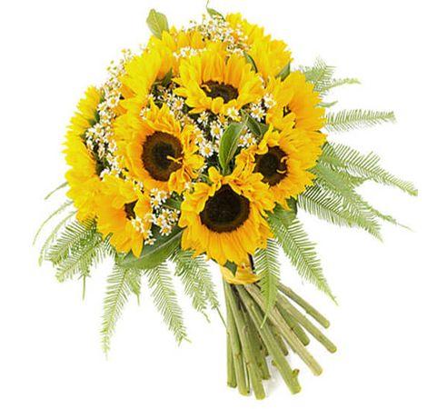 """Букет соняшнику """"Літній день"""". Superflowers.com.ua"""