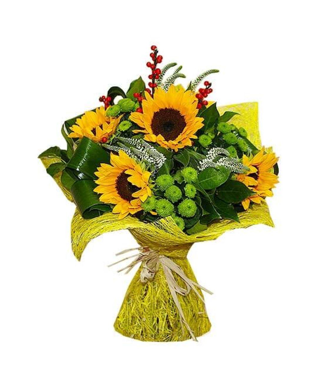 Летний букет. Superflowers.com.ua. Заказать букет летних цветов в Киеве