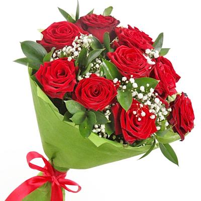 """11 красных роз """"Нежное признание"""""""