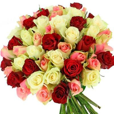 """Букет 51 роза """"Изысканность"""""""