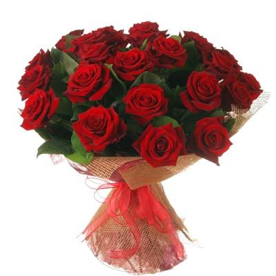 """Букет из 25 роз """"Кокетка"""""""