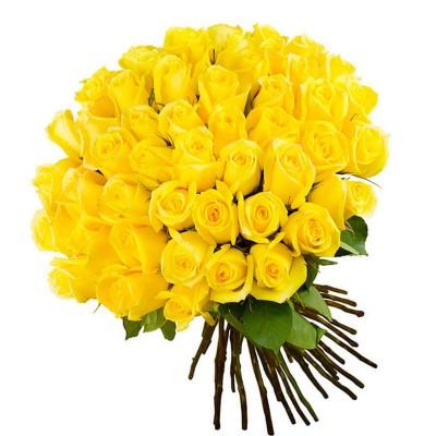 "Букет из 35 желтых роз ""Муза"""